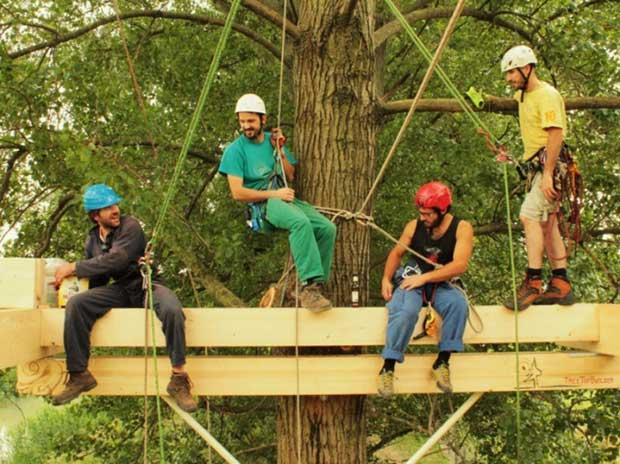 Case sugli alberi a verona realt verona in - Costruire case sugli alberi ...