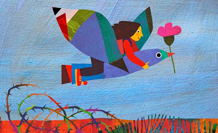 Un'illustrazione di Giulia Orecchia