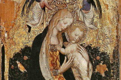 La Madonna della quaglia del Pisanello