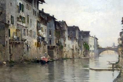 L'Acqua Morta, Bartolomeo Bezzi (1884)