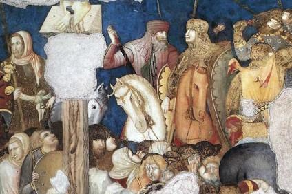 Crocifissione (1310-1319) Pietro Lorenzetti