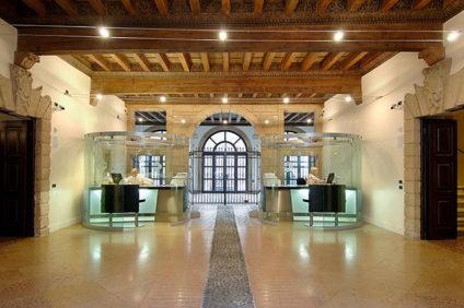 La sede di Crediveneto a Verona, a Palazzo Orti Manara