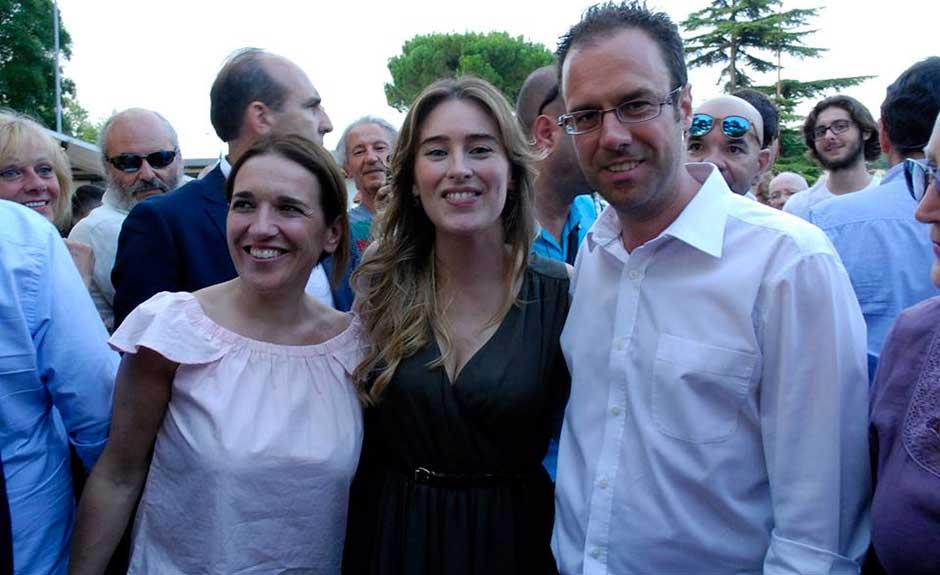 Alessia Rotta, Maria Elena Boschi, Diego Zardini