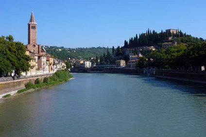L'Adige a Verona