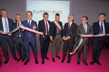 Inaugurazione Marmomacc 2016 in Fiera a Verona