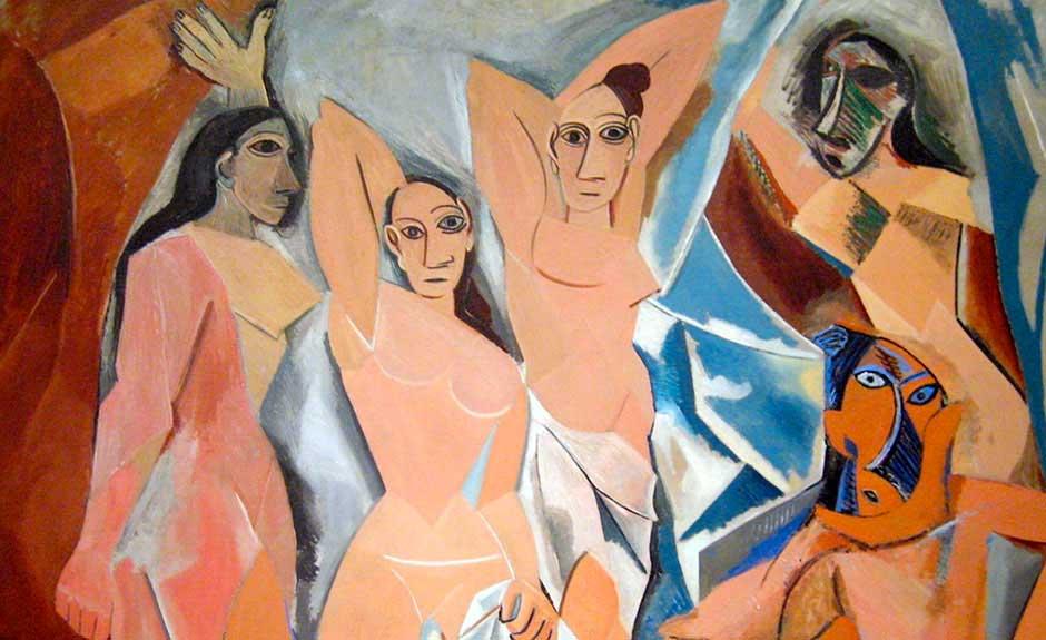 Les Demoiselles d'Avignon (Pablo Picasso,1907).