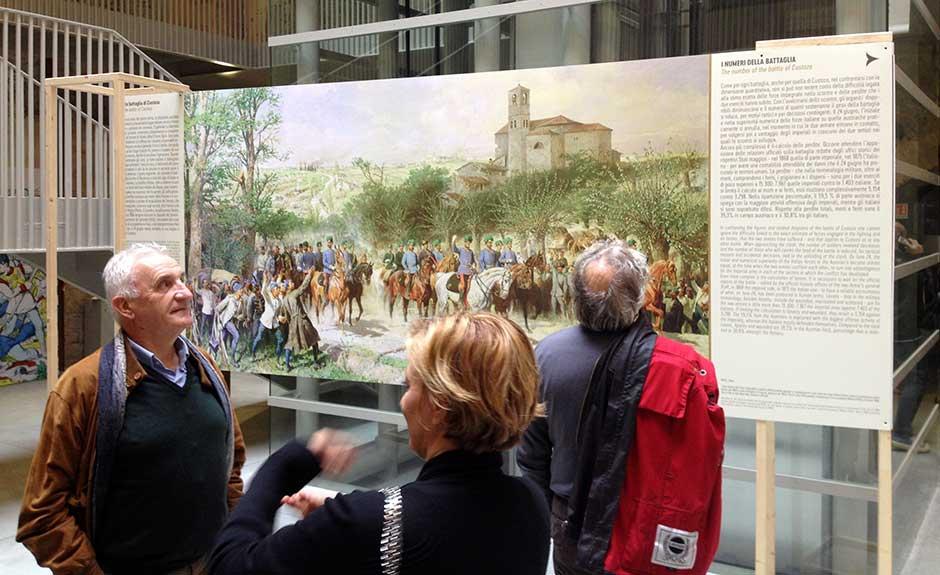 """La mostra """"Il giorno della gran battaglia. Il 24 giugno 1866 a Custoza"""" al Polo Santa Marta dell'Università di Verona"""