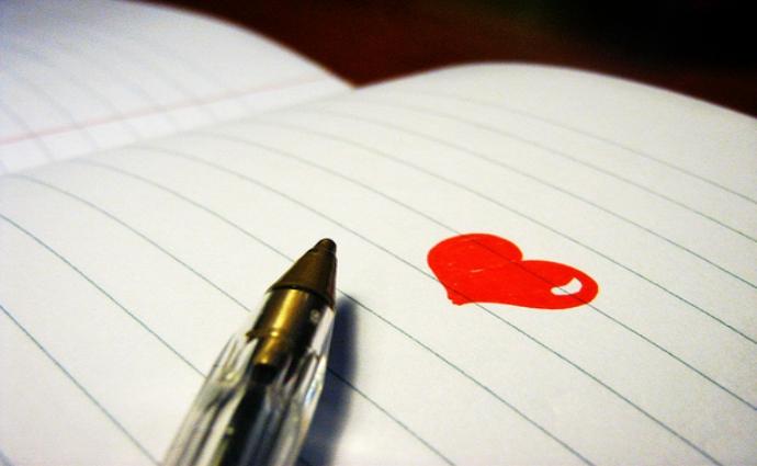 scrivere per amore