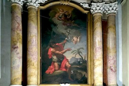 San Giovanni Battista, Antonio Balestra, chiesa di San Nicolò (Verona)