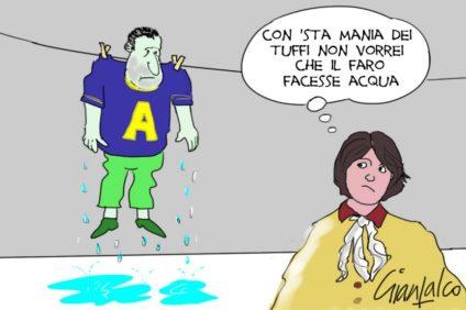 Flavio Tosi e Patrrizia Bisinella