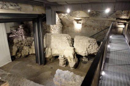 area archeologica corte Sgarzerie