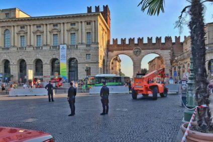 misure antiterrorismo a Verona