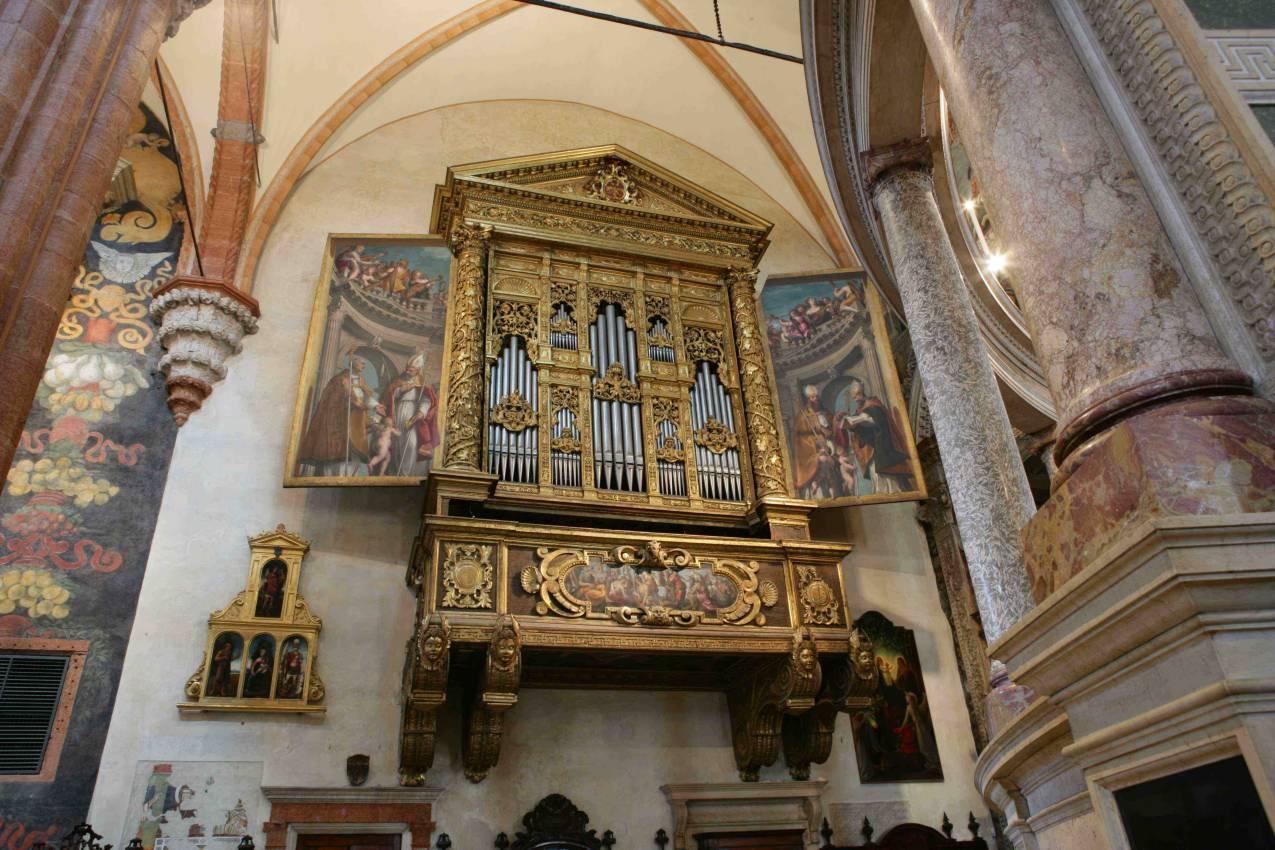 L'organo della Cattedrale di Verona