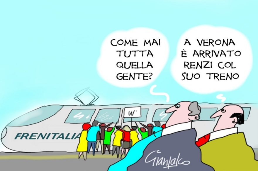Renzi a Verona