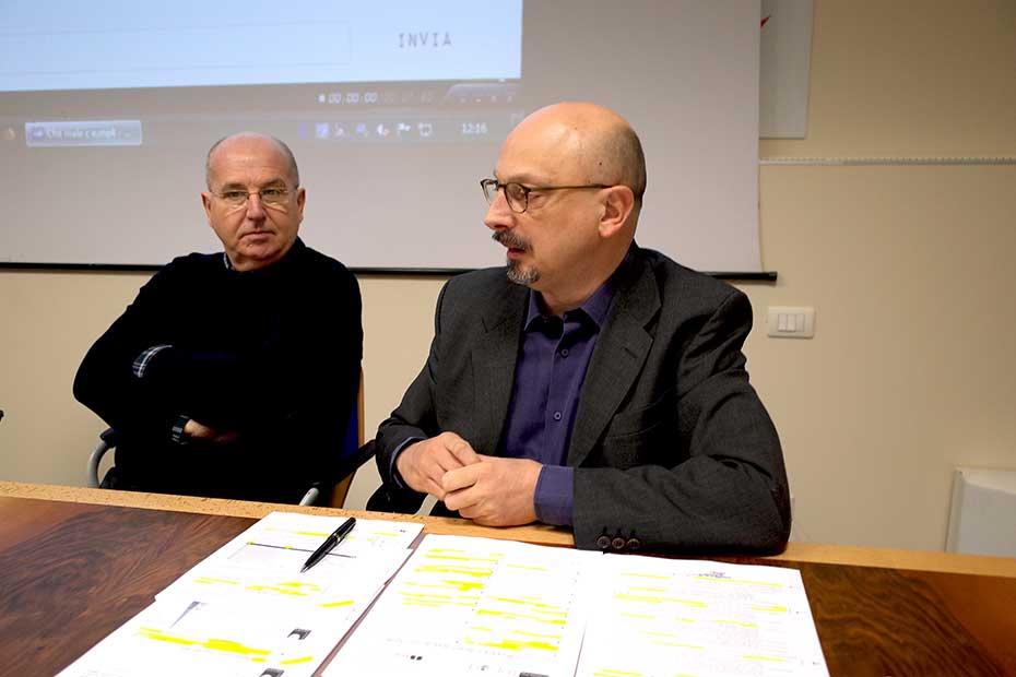 Massimo Castellani, Giorgio Gosetti (Foto Verona In)