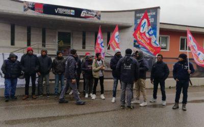 San Pietro in Cariano Verona Protesta lavoratori Reggiani Visual