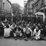 La protesta di un '68 impossibile con Riccardo Mauroner