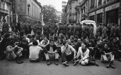 Manifestazione contro l'esercito - 1968
