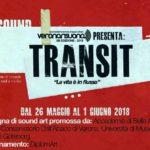 Verona Risuona Transit 2018, la vita è in flusso