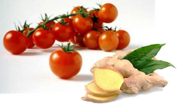 Pomodorini e zenzero