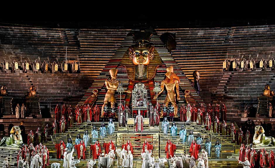 Aida, Arena di Verona 2015