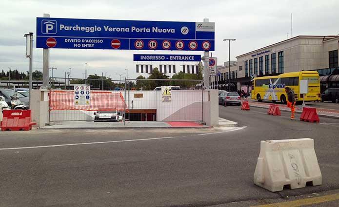 Apre il nuovo parcheggio di piazzale xxv aprile - Stazione verona porta nuova indirizzo ...