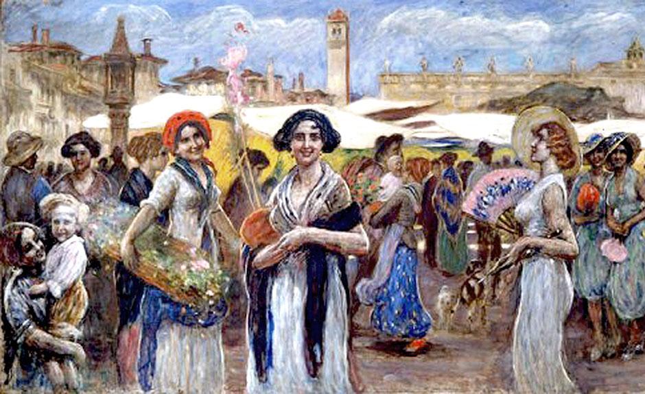 Piazza Erbe, Verona, Angelo Dall'Oca Bianca