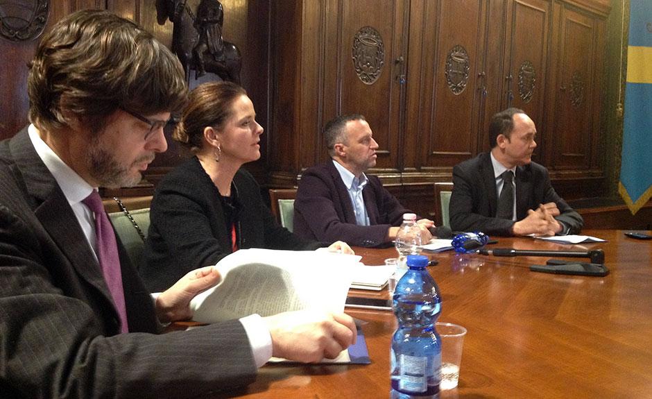 Francesco Girondini, Francesca Gottardello, Flavio Tosi, Gianluca Fantoni