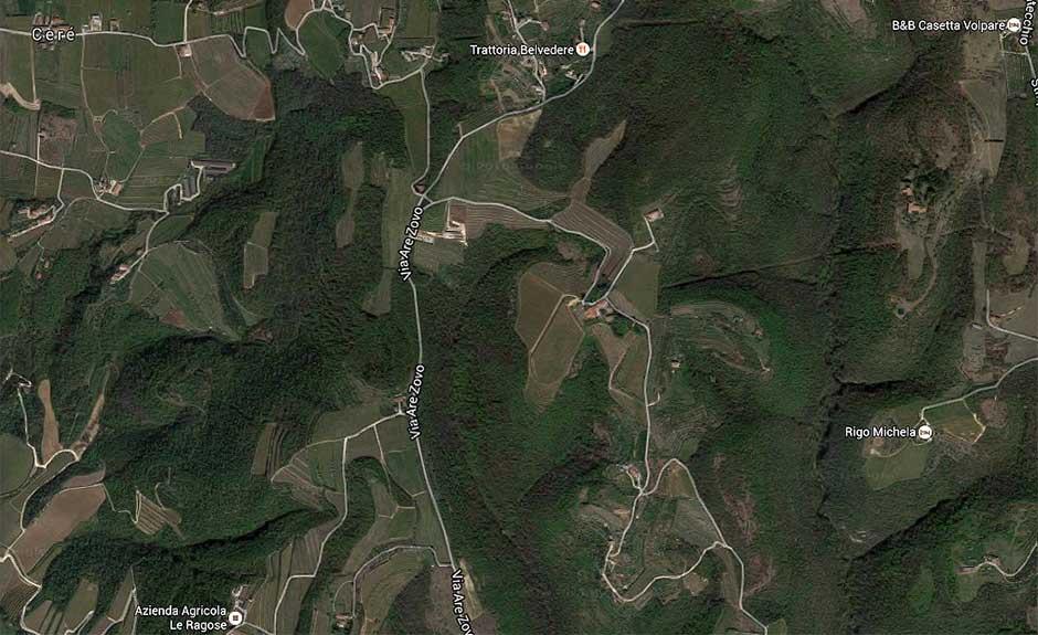 Le colline tra Quinzano e Montecchio