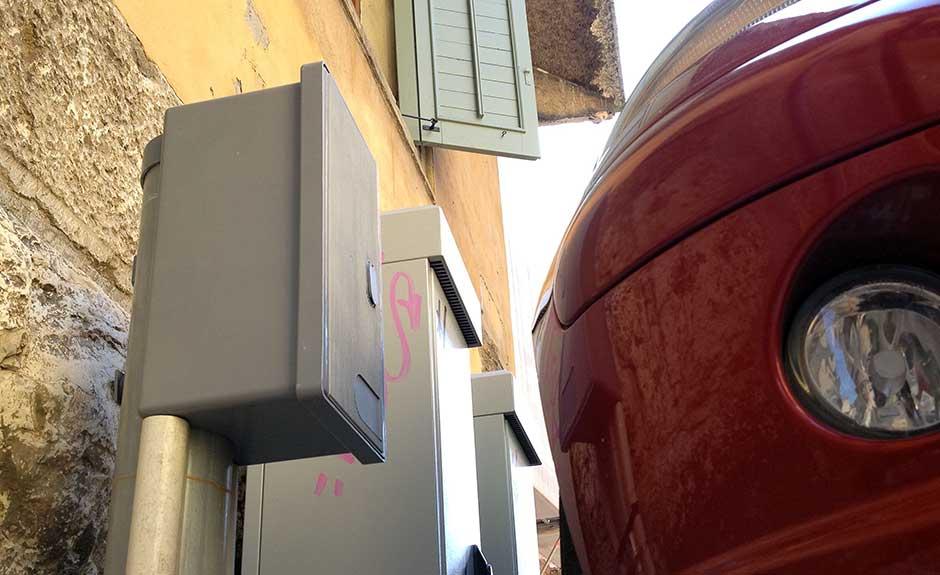 Centraline fibra ottica tra via Cappelletta e via Fontanelle Duomo (Foto Verona In)