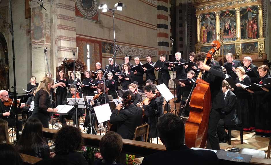 Concerto in San Zeno a Verona per i 90 anni dell'Hotel Firenze