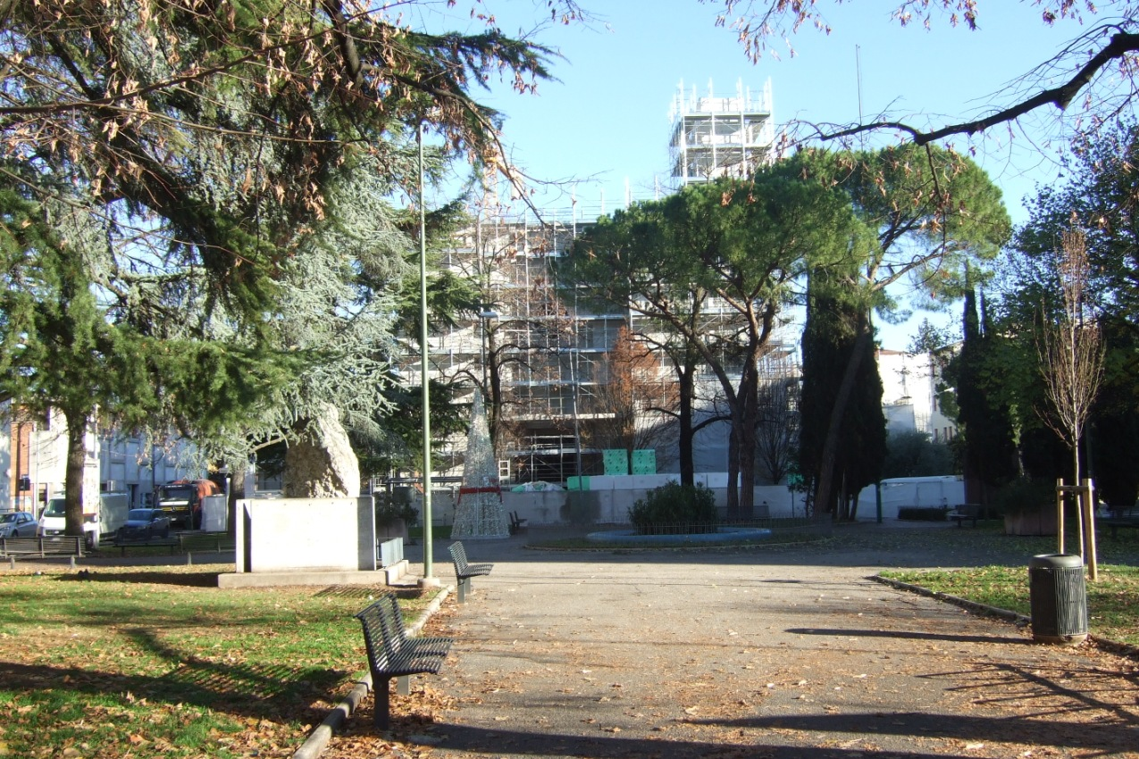 Verona - Borgo Nuovo - Giardini