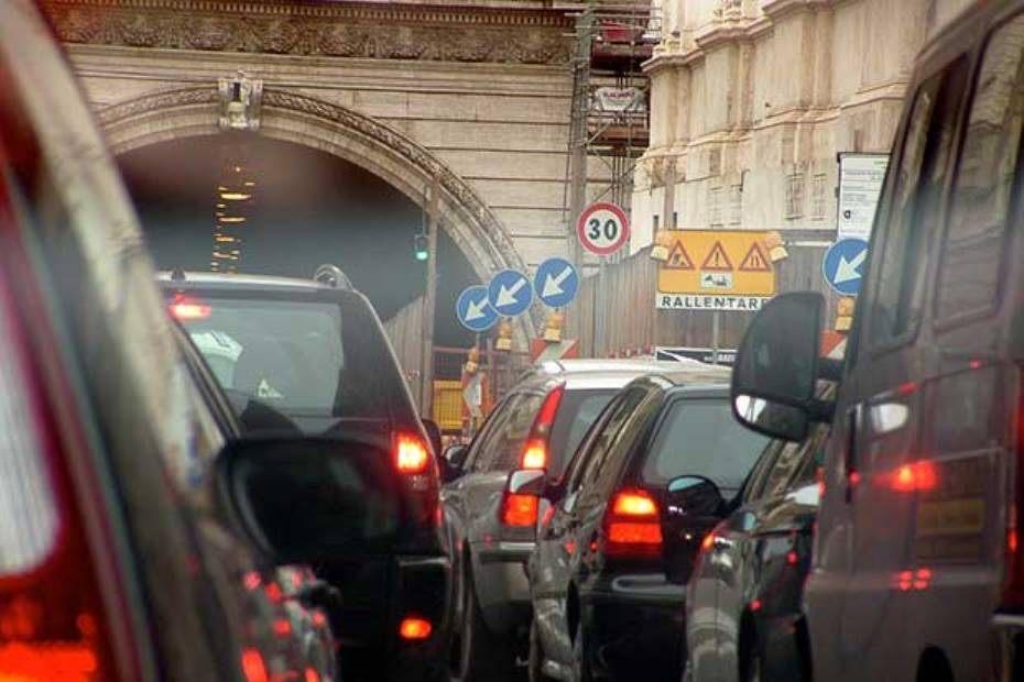 Verona-Traffico - traforo