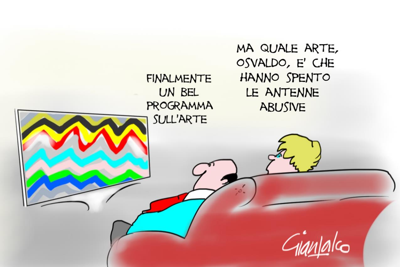 antenne oscurate