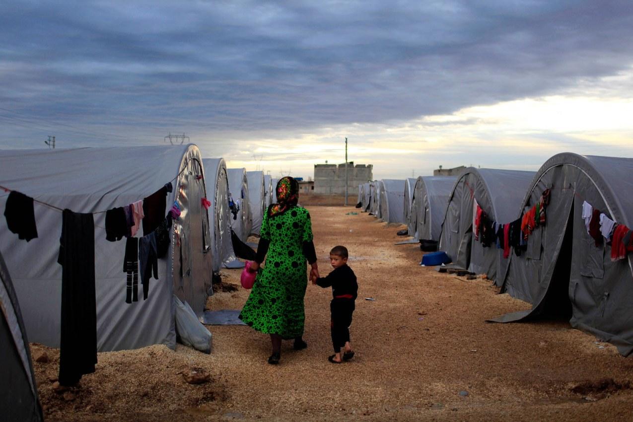 Turchia-campo-rifugiati
