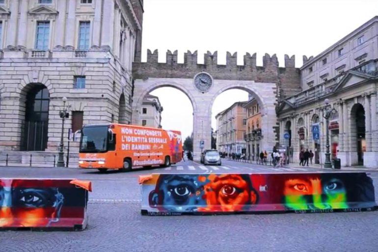 Verona bus della liberta