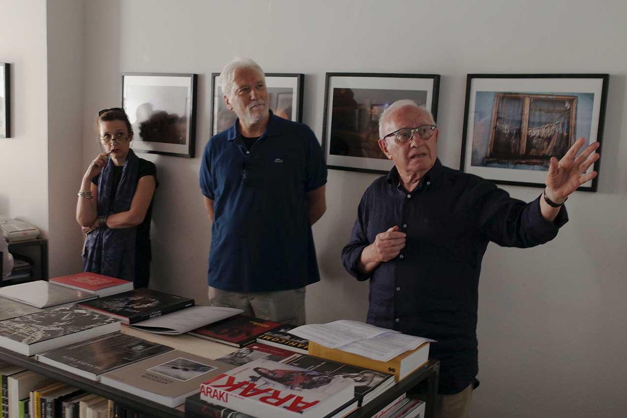 Cinzia Inguanta, Giorgio Massignan, Gianni Falcone