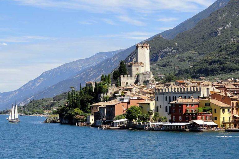 Lago di Garda - arpav- monitoraggio