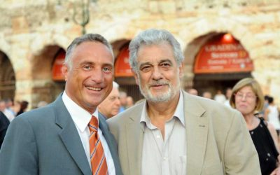 Corrado Ferraro, Plácido Domingo