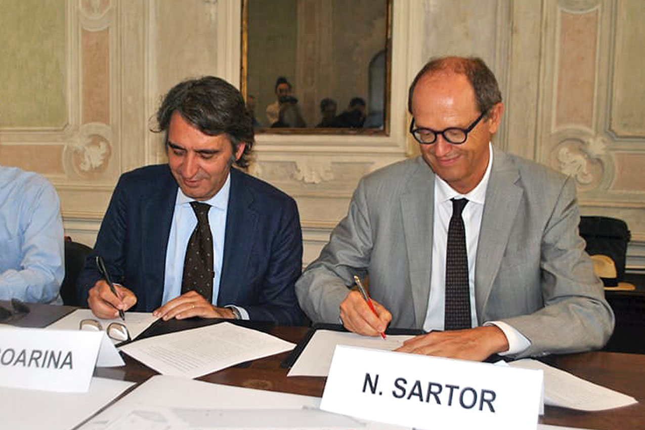 Federico Sboarina, Nicola Sartor