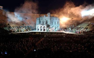 Arena di Verona, Nabucco. ©Foto Ennevi - Fondazione Arena di Verona