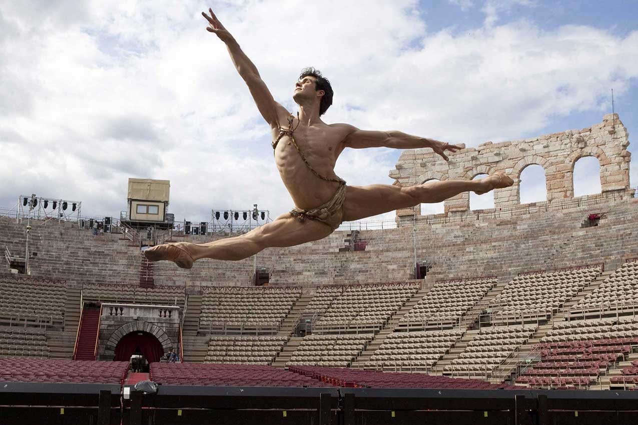 Roberto Bolle in Arena, Verona (foto LauraFerrari)