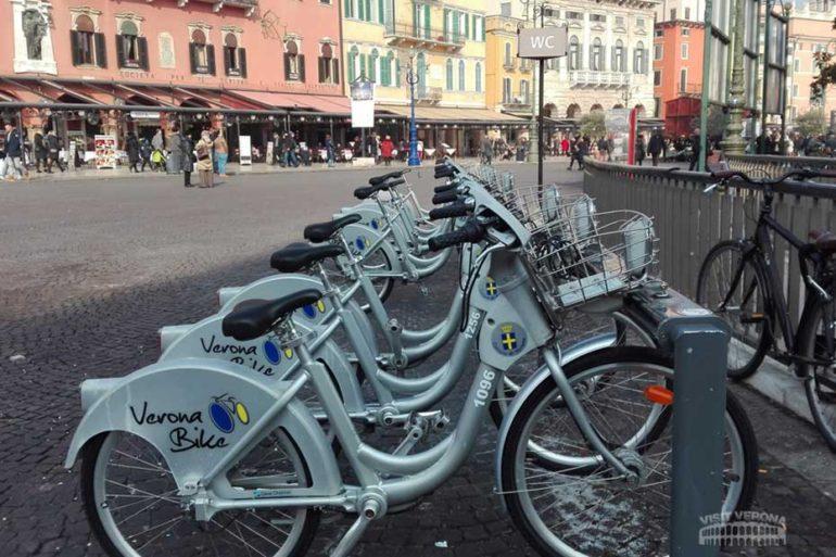 Biciclette a Verona