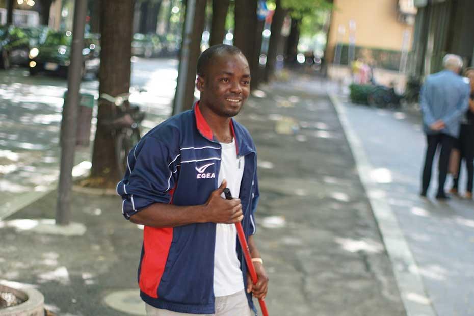 Kingsley Onuoha, uno dei cleaners