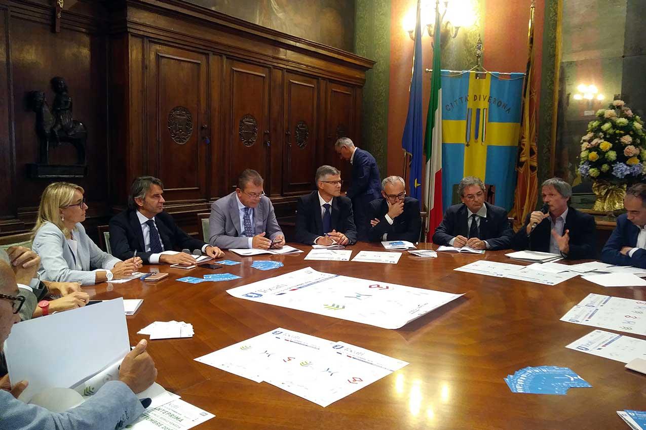 La presentazione del Tocatì in Municipio