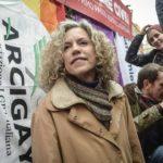 La Senatrice Cirinnà a Verona in solidarietà di Angelo e Andrea