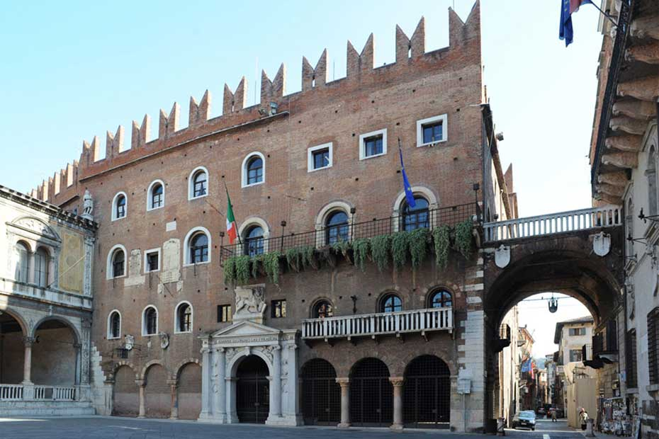 Palazzo Scaligero, sede Provincia di Verona