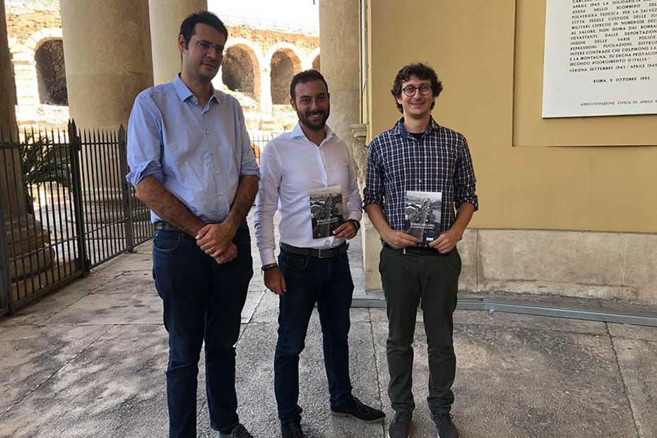 Vito Comencini, Nicolò Zavarise, Davide Peccantini