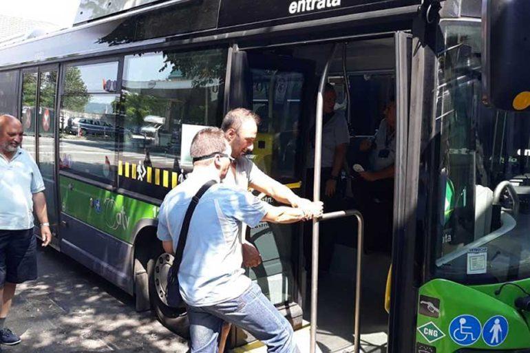 Accessibilità autobus ATV