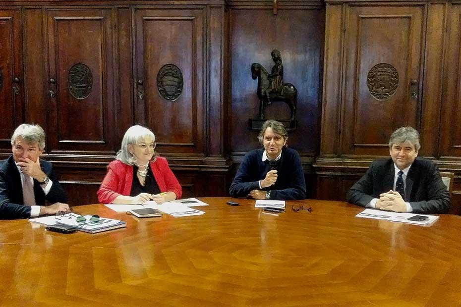 Gianfranco De Cesaris, Cecilia Gasdia, Federico Sboarina, Gianmarco Mazzi